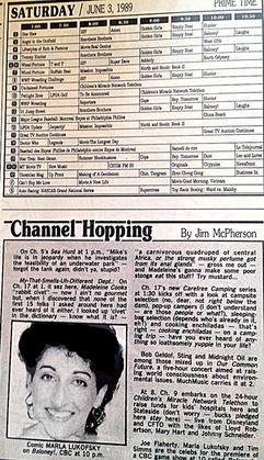 TV Guide Channel Hopping Marla Lukofsky