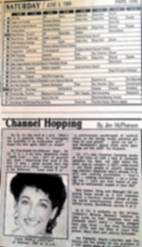 TV Guide Channel Hopping Marla Lukofsky