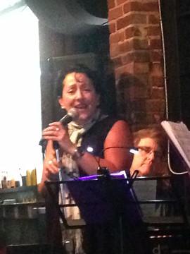 Marla Lukofsky Jazz Show @ 120 Diner Show and Mark Kieswetter