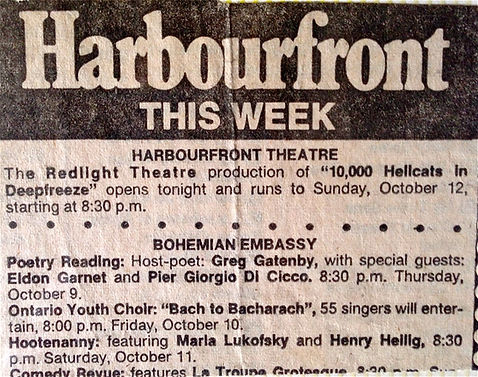 1975 Bohemial Embassey Marla, Henry Hell