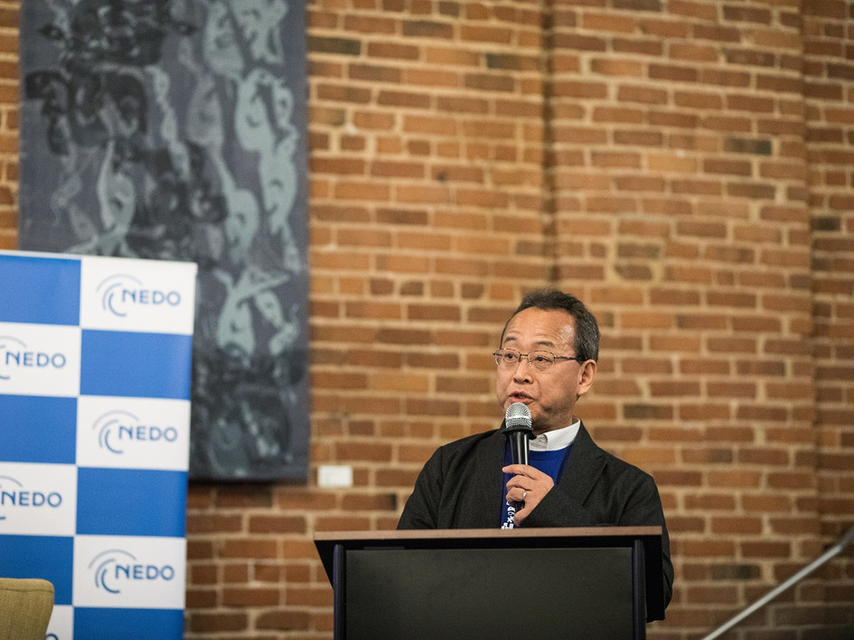 Opening remarks by Mr. Koichi Eguchi, Director General of NEDO Headquarters in Japan