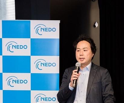 Greeting by Shinnosuke Kameyama, Chief Representative of NEDO Silicon Valley