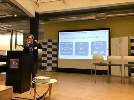 Opening remarks by Mr. Takeshi Yoshida, Director General of Innovation Promotion Department, NEDO Headquarters in Japan