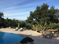 ocean view over pool