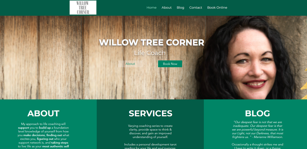 Willow Tree Corner - Life Coach