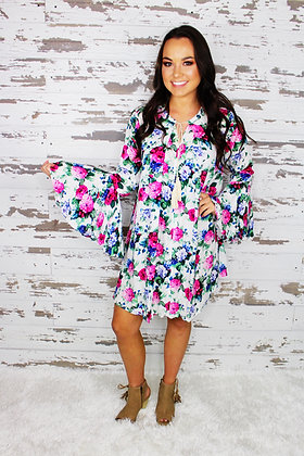 Kinsley Grace Floral Dress