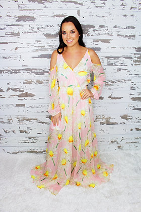 Field Of Daisies Maxi Dress
