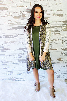 Laced In Love Cardigan