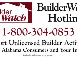 Builder Watch Hotline