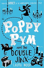 Laura Wood Poppy Pym cover