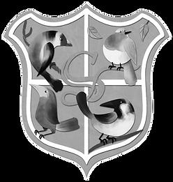 The Saint Smithen's School Crest by Beatrice Bencivenni
