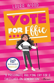 Laura Wood Vote For Effie cover