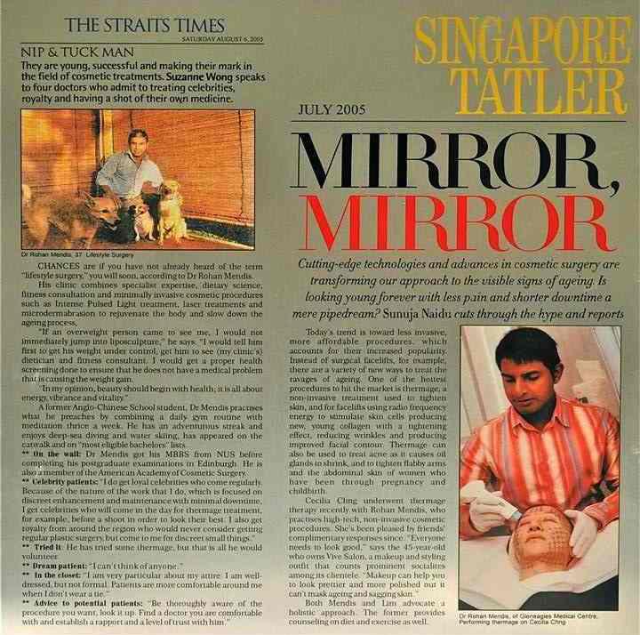 aesthetic singapore mendis40