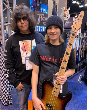 I just ran into another rocker at NAMM.j