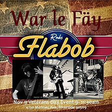 Come check War le fay out at Veterans Da