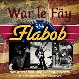 Come check War le fay out at Veterans Da