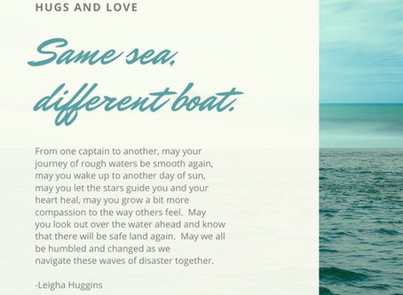 Same Sea, Different Boat