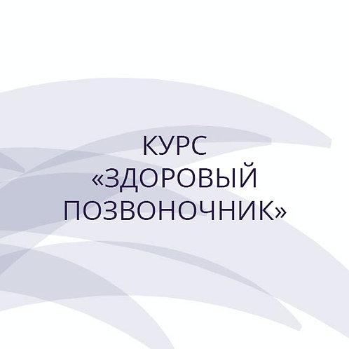 """Курс """"Здоровый позвоночник"""" (практика йоги Айенгара)"""