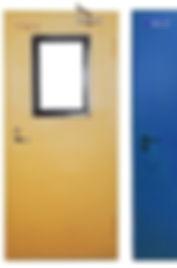 двери металлические противопожарные: производство