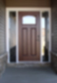 Двери металлические с отделкой мдф на заказ