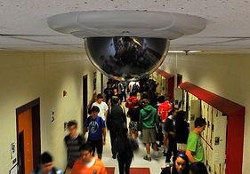 Монтаж видеонаблюдения в школе