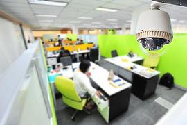 установка скрытого видеонаблюдения в офис