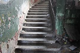 Лестничная площадка до установки видеонаблюдения