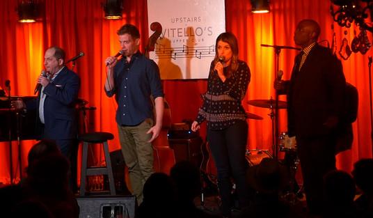 with Barrett Foa, Nicole Parker and Gary Anthony Williams @Vitello's - LA