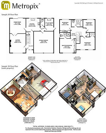 energy performance certificates and floor plans for marketing property in newark