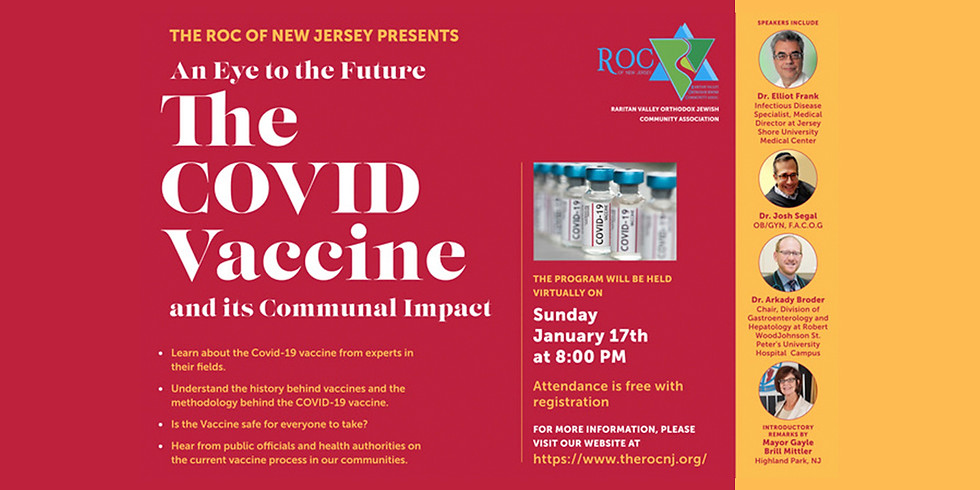 An Eye to the Future: The COVID Vaccine and it's Communal Impact