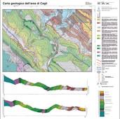 Carta geologica di Cagli (PS)