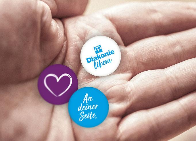Buttons-Diakonie-Libera-Oberueber-Karger