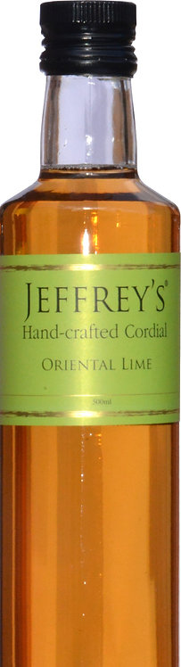 500ml Handcrafted Cordial Oriental Lime