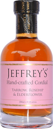 Hand-crafted cordial