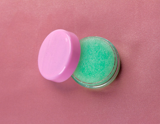 Peppermint lip scrub