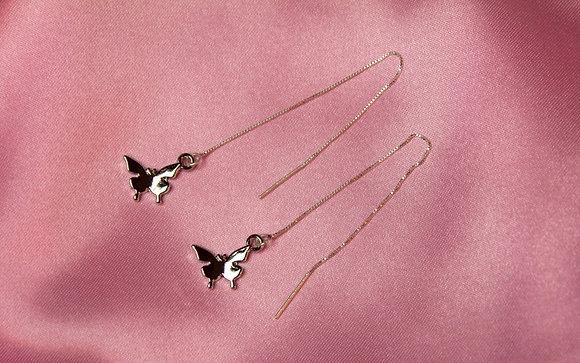 Butterfly Ear Threaders