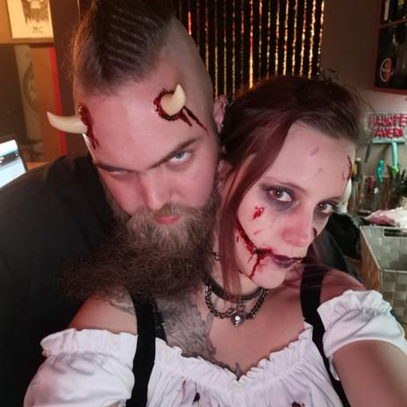 Halloween was a blast