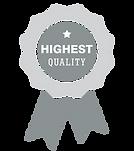high quality service award ribbon
