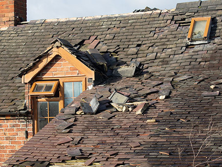 3 Most Common Types of Roof Damage in Utah