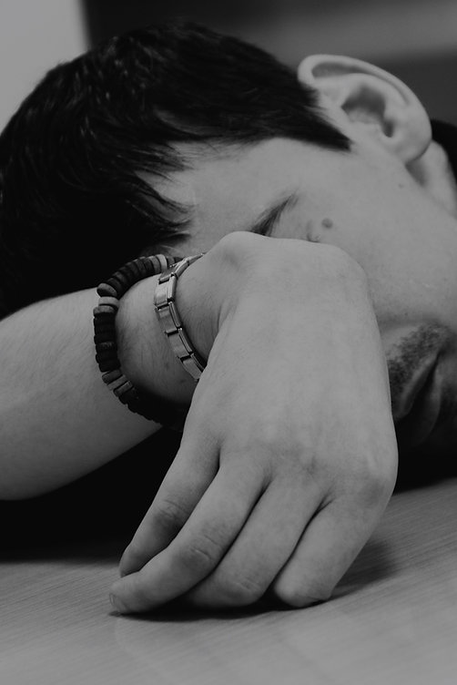 black and white, portrait, man, hand, sophie anne herin