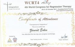 4. Dünya Regresyon Terapisi Kongresi