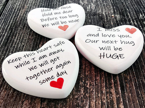 Comfort Heart - Isolation, Social Distancing, Letterbox Gift