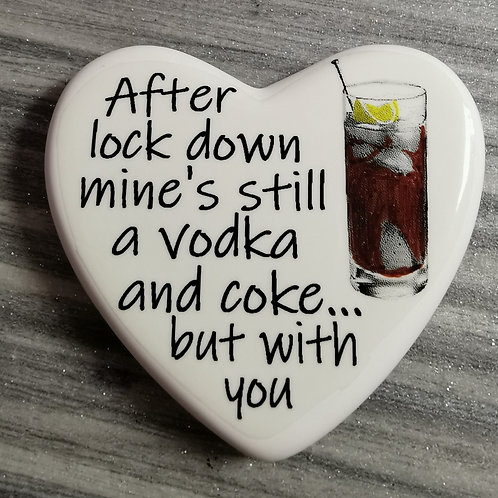 Comfort Heart - Still a Vodka and Coke, Isolation, Letterbox gift