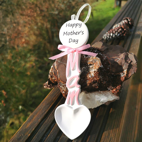 Mam Welsh Lovespoon Personalised Gift