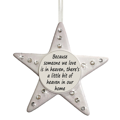 Christmas Memorial Star little piece of heaven