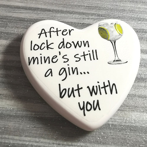 Comfort Heart - Still a Gin, Isolation, Letterbox gift