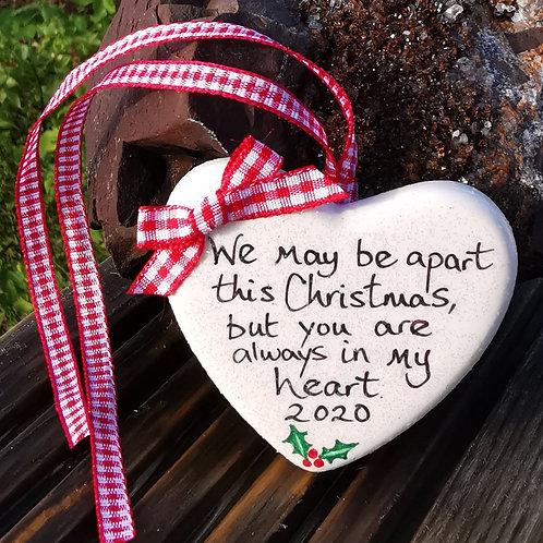 Heart Apart Hanging Heart Gift