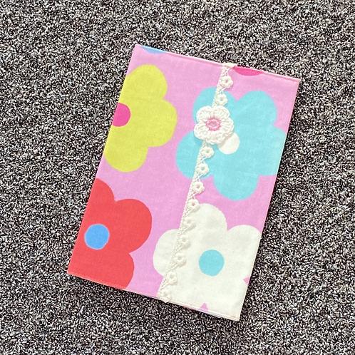 U-Hefthülle - Blume pink
