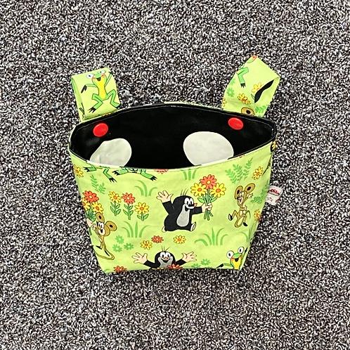 Lenkertasche - Pauli im Garten grün