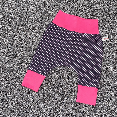"56 | Hose ""Tess"" - Pinkes Punktemeer"